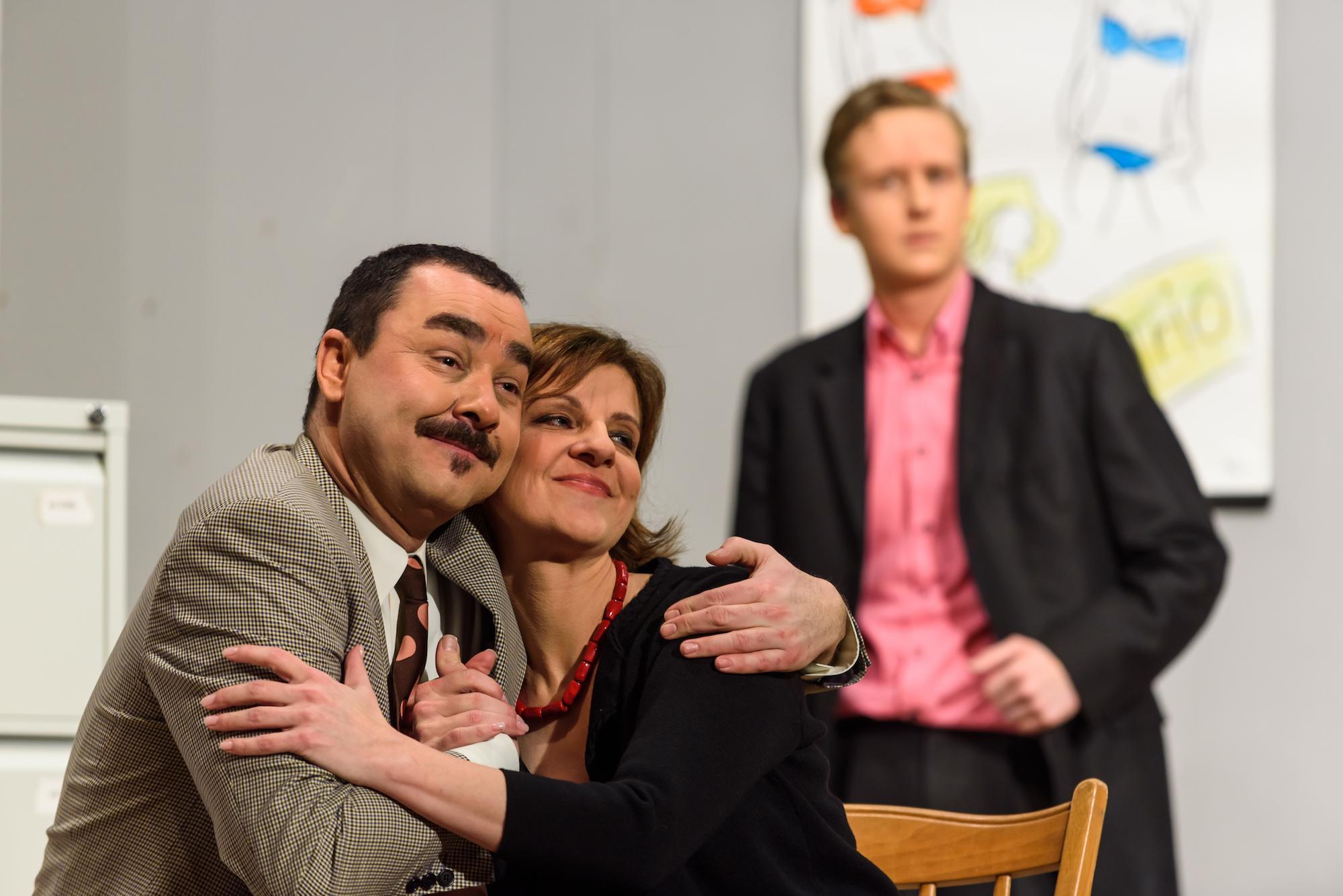 Mario Schmid, Sabine Dössegger und Pascal Koch