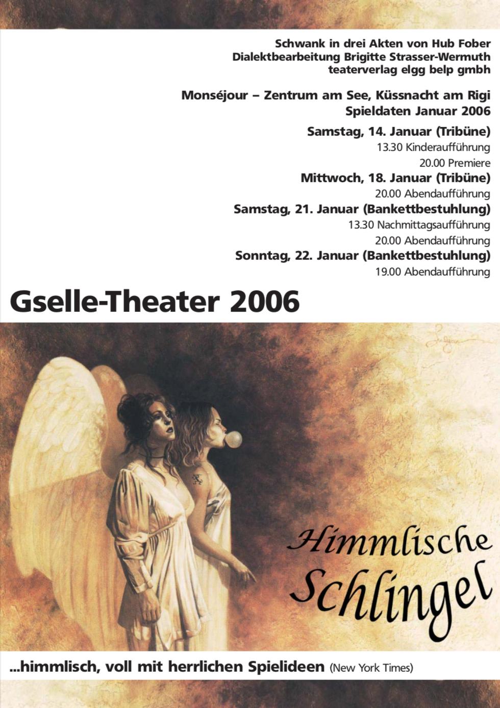 Himmlischi Schlingel 2006 - Flyer